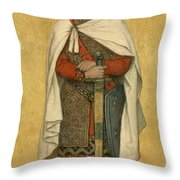 Baldwin Iv Throw Pillow