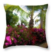 Bougainvillea Magic Throw Pillow
