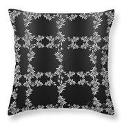 Bough Grid Throw Pillow