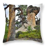 Boulder Mountain Throw Pillow