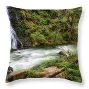 Boulder River Throw Pillow