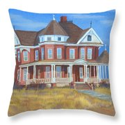 Boulder Victorian Throw Pillow