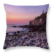 Boulders At Dawn - Vertical Throw Pillow