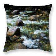 Boulders - Mossman Gorge, Far North Queensland, Australia Throw Pillow