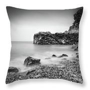 Bouley Bay Throw Pillow by James Billings