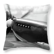 Boultbee Spitfire Tr9 Throw Pillow