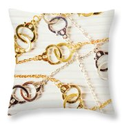 Bound By Love  Throw Pillow