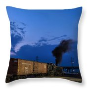Bound For Nowhere Throw Pillow