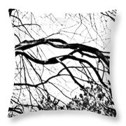 Bound Together In A Love Knot Throw Pillow