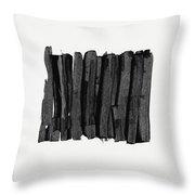 Boundaries- Art By Linda Woods Throw Pillow by Linda Woods