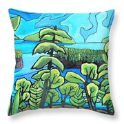 Boundary Waters Throw Pillow