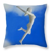 Boundless Woman Throw Pillow