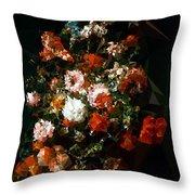 Bouquet No. 11 Throw Pillow