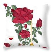 Bouquet Of Life Throw Pillow
