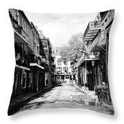 Bourbon Alley Throw Pillow