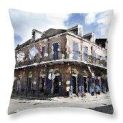 Bourbon Pub Pride Throw Pillow