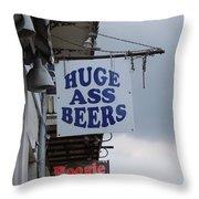 Bourbon Street Signs Throw Pillow