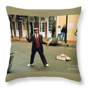 Bourbon Street Throw Pillow