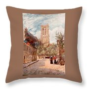 Bourges Throw Pillow