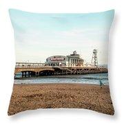 Bournemouth Pier No 2 Throw Pillow
