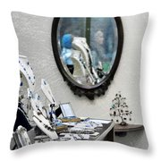 Boutique Throw Pillow by JAMART Photography