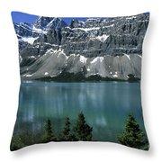 Bow Lake Area Throw Pillow
