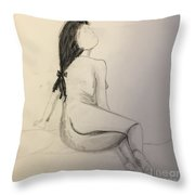 Bow Throw Pillow