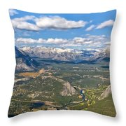 Bow River Beauty Throw Pillow