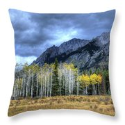 Bow Valley Parkway Banff National Park Alberta Canada IIi Throw Pillow