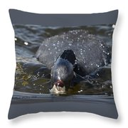 Bow Wave Throw Pillow