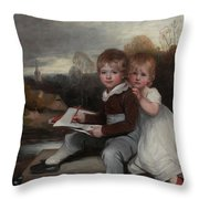 Bowden Children Throw Pillow