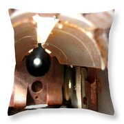 Bowfin Submarine 22mm Deck Gun Throw Pillow