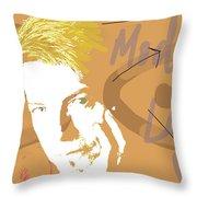 Bowie Modern Love  Throw Pillow