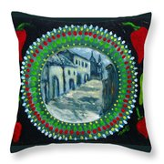 Bowl Of Chile Throw Pillow