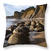 Bowling Ball Beach Throw Pillow