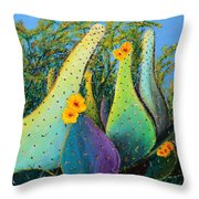 Bowling Pins Throw Pillow