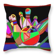 Bowling Sports Fans Decoration Acrylic Fineart By Navinjoshi At Fineartamerica.com  Down Load  Jpg F Throw Pillow