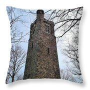 Bowman's Hill Tower Throw Pillow
