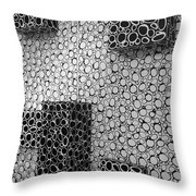 Box  Circles Squared 2 Throw Pillow