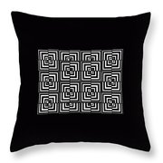 17 D Interdimensional Throw Pillow