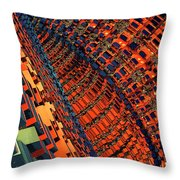 Box Me In #10 Throw Pillow