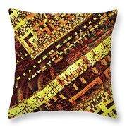 Box Me In #6 Throw Pillow
