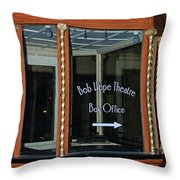 Box Office Throw Pillow