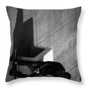 Boxed Inn Throw Pillow