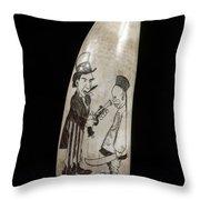 Boxer Rebellion, C1900 Throw Pillow