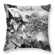 Boxer Rebellion Throw Pillow