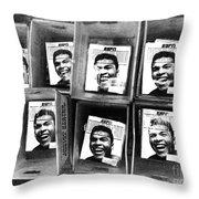 Boxers Boxes Throw Pillow