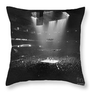 Boxing Match, 1941 Throw Pillow by Granger