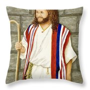 Boy David Throw Pillow