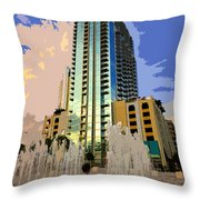 Boy Growing Up Throw Pillow